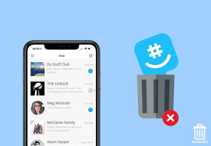 How to Delete your GroupMe Account in 2021 – Delete.Wiki